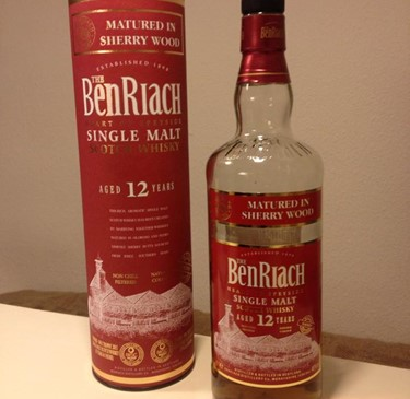 BenRiach Sherry matured 12 år